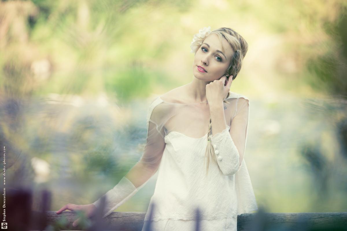 robe mariée deux pièces